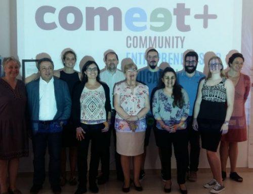 La Junta de Extremadura presenta Comeet Plus, una plataforma internacional de formación en educación emprendedora