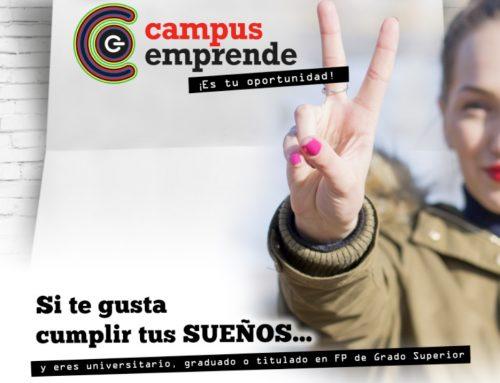 Abierta la nueva convocatoria para participar en Campus Emprende