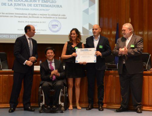 Un proyecto de Cultura Emprendedora, ganador del Premio 'Súper Cuidadores', del Ministerio de Sanidad