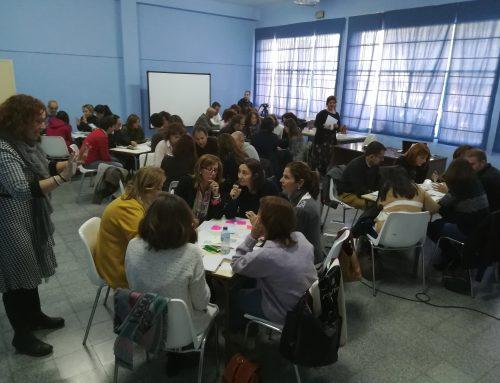 Docentes de ESO y FP Básica participan en una sesión formativa de Cultura Emprendedora para la construcción de proyectos de emprendimiento social