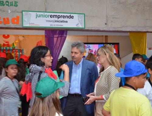El Consejero de Economía asiste a la clausura del programa Junioremprende 2018 que finaliza con más de 2.200 participantes