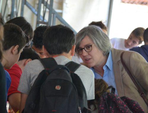 La consejera de Cultura e Igualdad ha visitado las actividades del programa 'Teenemprende' en Villafranca de los Barros