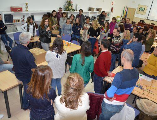 Más de medio centenar de docentes participan en la tercera sesión formativa de Junioremprende