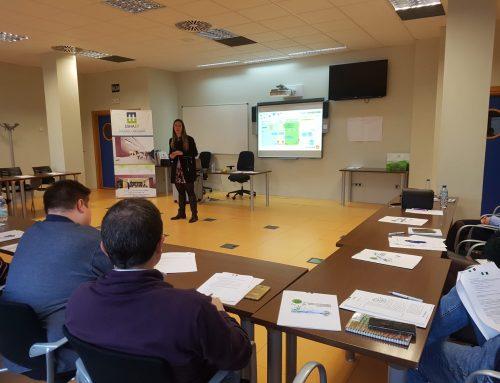 Sesión de trabajo de Expertemprende con los AEDLs y Prospectores de Empleo