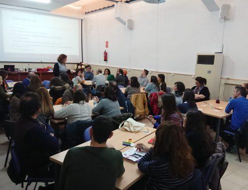 Medio centenar de docentes de ESO y FP Básica participan en una nueva sesión formativa de Teenemprende