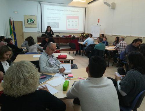 Última sesión formativa con los docentes de ESO y FP Básica participantes en Teenemprende