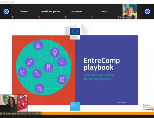 Primer Seminario sobre el Marco EntreComp dentro de la formación online de Cultura Emprendedora