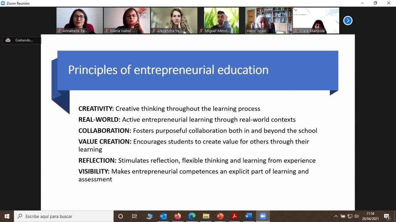 La Junta de Extremadura presenta el Observatorio de Cultura Emprendedora ante cien expertos europeos en educación y desarrollo de competencias