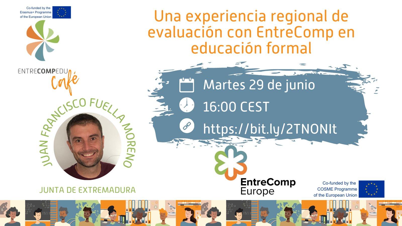 Comienzan los «EntreCompEdu Café» en castellano